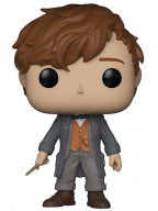 Figura - Fantastic Beasts, Newt Scamander with Wand