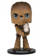 Figura - Star Wars, Chewbacca with Porg
