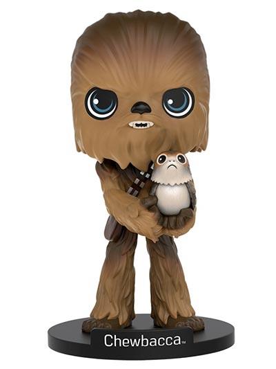 Figura - Star Wars, Chewbacca with Porg