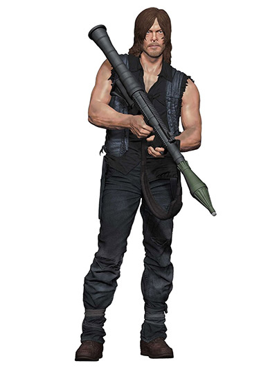 Figura - Walking Dead, Daryl With Rocket Launcher