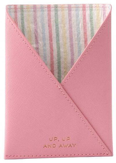 Futrola za pasoš - W&R Candy Pink Up, Up And Away