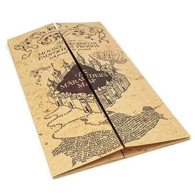 Mapa - Marauder's map