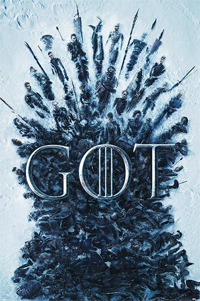 Maxi poster - GOT, Throne Of The Dead