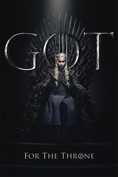 Poster - GOT, Daenerys For The Throne