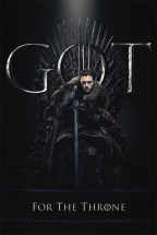 Poster - GOT, Jon For The Throne