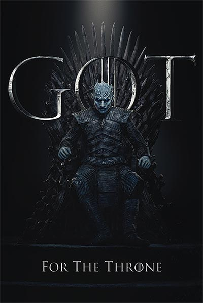 Poster - GOT, The Night King For The Throne
