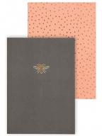 Set notesa - Charcoal Coral Sky Miller