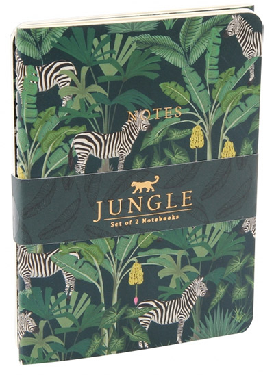 Set notesa - Jungle Zebra