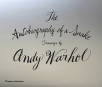 the autobiography of a snake drawings by andy warhol