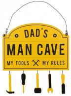Viseća poruka - Dad's Man Cave