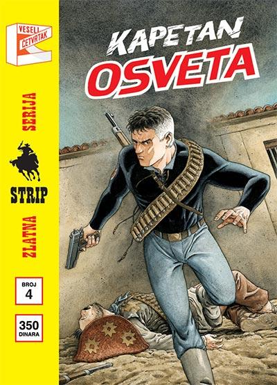 ZLATNA SERIJA 4 - MISTER NO: KAPETAN OSVETA (KORICA B)
