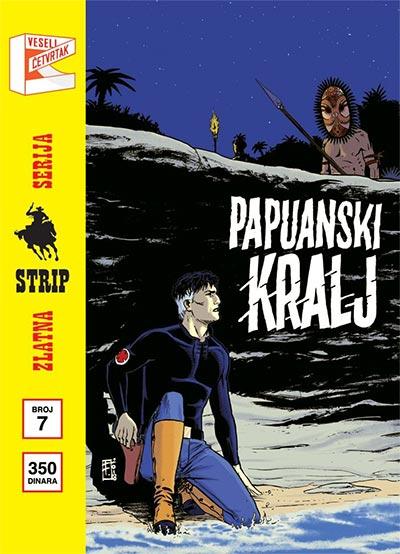 Zlatna serija 7 - Mister No: Papuanski kralj (korica B)