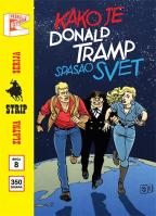 Zlatna serija 8 - Marti Misterija: Kako je Donald Tramp spasio svet (korica B)