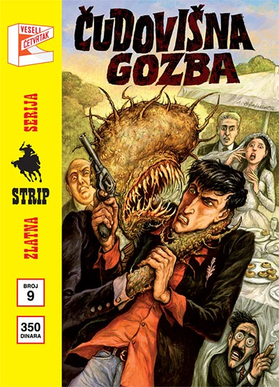 Zlatna serija 9 - Dilan Dog: Čudovišna gozba (korica B)