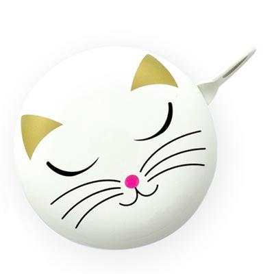 Zvono za bicikl - White Cat