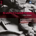 BRAHMS, CHOPIN & FRANCK: CELLO SONATAS