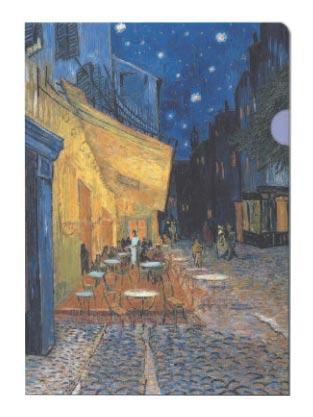 Fascikla - Van Gogh, Cafe Terrace at Night