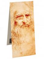 Magnetni bukmarker - Da Vinci Self Portrait