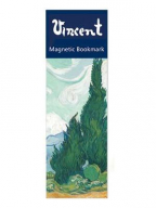 Magnetni bukmarker - Van Gogh, Wheatfield with Cypresses