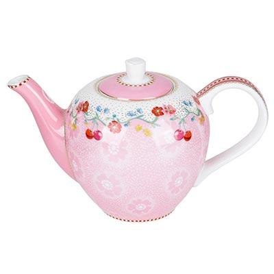 Čajnik - S, Cherry Pink