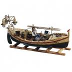 Figura - Fishing Boat, Bot de llums