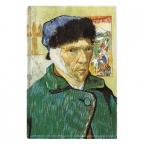 Magnet - Van Gogh, Self Portrait with Bandaged Ear