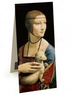 Magnetni bukmarker - Da Vinci, Lady with an Ermine