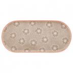 Tacna - Dotted, Flower Khaki