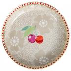 Tacna - Tea Tip, Dotted Flower Khaki