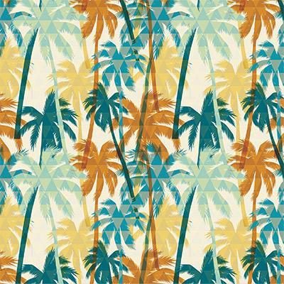 Ukrasni papir - Palm Trees Kraft