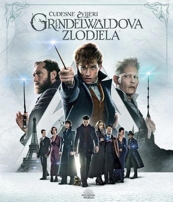 Čudesne zviijeri: Grindelwaldova zlodjela - Fantastic Beasts: The Crimes of Grindelwald, blu-ray