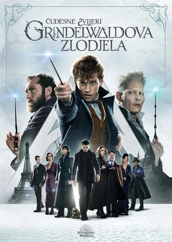 DVD, ČUDESNE ZVIJERI:GRINDEWALDOVA ZLODJELA - FANTASTIC BEASTS: THE CRIMES OF GRINDELWALD