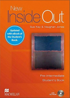 New Inside Out Pre-Intermediate + Ebook Student's Pack - engleski jezik, udžbenik za 1. godinu srednje škole