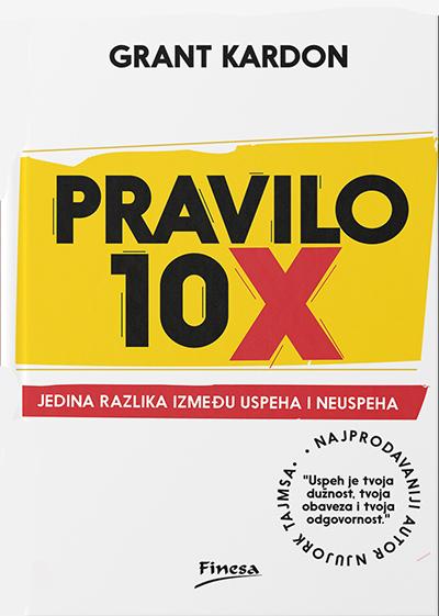Pravilo 10x: jedina razlika između uspeha i neuspeha