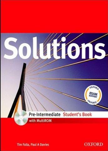 Solutions Pre-Intermediate, engleski jezik, udžbenik za 1. godinu srednje škole