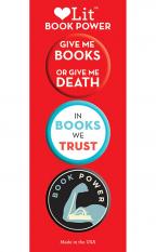 Book Power 3-Button Assortment