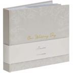 Foto-album - Our Wedding Day, Grey Floral