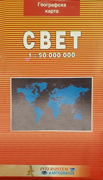 GEOGRAFSKA KARTA SVETA