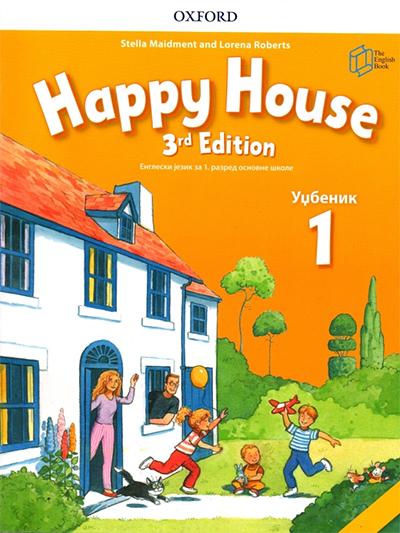 Happy House 1, engleski jezik, udžbenik i radna sveska za 1. razred osnovne škole - treće izdanje