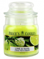 Mirišljava sveća u tegli - Lime & Basil, S