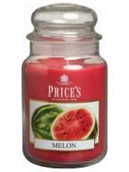 Mirišljava sveća u tegli - Melon, L