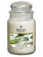 Mirišljava sveća u tegli - White Musk, L