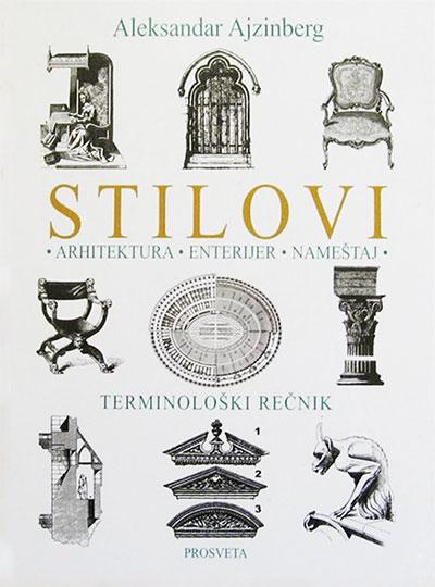 Stilovi: arhitektura, enterijer, nameštaj - terminološki rečnik