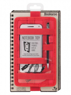 Futrola - Notebook, Bookaroo, Tidy Red