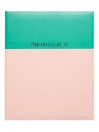 Album samolepljiv - Pink Green Coral