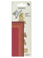 Bukmarker - Bookminders, Brass Alice in