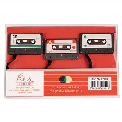 Bukmarker set/3 - Cassette Tape