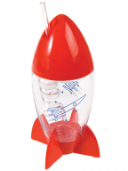 Čaša i slamčica - Space Age Rocket