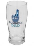 Čaša sa podmetačem - Beer, Number 1 Dad