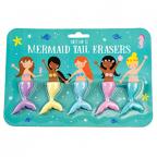 Gumica set/5 - Mermaid Tail